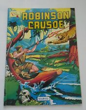 Marvel Comic classics 1976  magazine ( UK ) -robinson crusoe