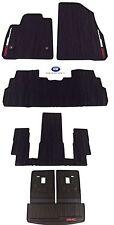 2017-2018 GMC Acadia Complete Premium All Weather Floor Mat Package Black OEM GM