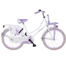 """hollandrad 22 pouce Spirit """" NOSTALGIE """" vélo enfant vélo De Filles weis-lila"""