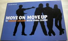 Advertising Education Move on Move Up Harrow College 2004 - unposted