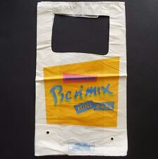 5 Woolworths new/unused Pic'n'Mix Mini Bars (Pick and Mix) plastic sweet bags