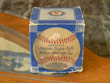 EARLY RARE Reach Official American League William Harridge Baseball Box Only !!