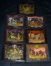 Crucible Miniatures Lot (7 boxes) - Ral Partha {NEW-SEALED-SHRINK} <OOP>