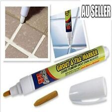 Grout Tile Marker Ceramic Floor Tile White Repair Pen Reversible Nib Fix Tool