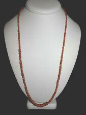 Pre-Columbian Spondylus Shell Bead Necklace, 100% Authentic