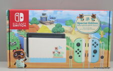 *NEW OPEN BOX* Nintendo Switch Console Animal Crossing New Horizons Edition
