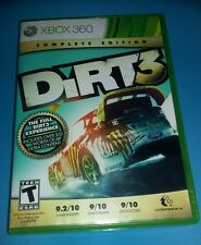 DiRT 3 Complete Edition (Microsoft Xbox 360, 2012) GOLD XB360 RALLY RACING