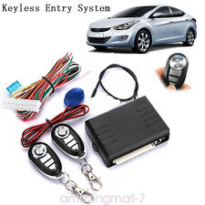 Auto Car Remote Control Central Lock Locking Kit Keyless Entry System Universal