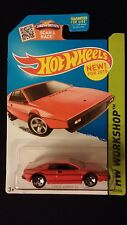 2015 HOT WHEELS Lotus Esprit S1 (Red) HW WORKSHOP Collectible Toy Car
