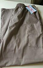 Womens Cherokee Workwear Uniform Scrubs Color Tauw Bottom Pants NWT Size XL