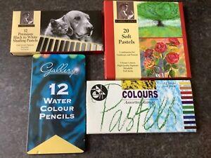 pastels and watercolour pencils bundle
