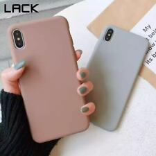 solid colour silicone couple case for iphone