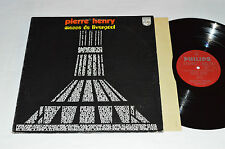 PIERRE HENRY Messe de Liverpool LP 1970 Philips Records Canada Vinyl 6510 001 VG