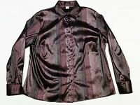 CAMICIA CALIBRATA tg 53 BIG SHIRT size 53 Made in Italy Manica lunga/Long sleeve