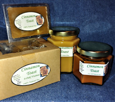 **NEW** Hand Poured Bakery Soy Candles, Tarts & Votives - Cinnamon Toast Scent