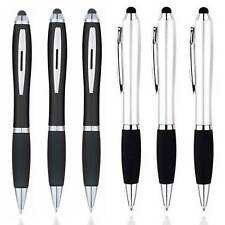 [6-Pack] Universal 2-in-1 Touch Screen Stylus + Ballpoint Pen For Tablet Phone