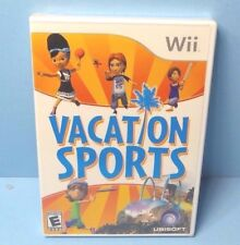 Vacation Sports - Nintendo Wii BRAND NEW FACTORY SEALED