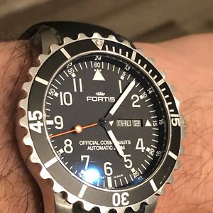 Fortis B-42 Official Cosmonauts Day/Date Automatic Watch