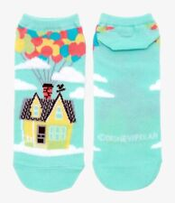 Disney Pixar Up no-show socks Carl's house balloons official licensed