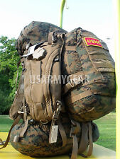 USMC GEN 2 Complete ILBE Back Pack Ruck Sack System Set + Assault Pack USGI  +++