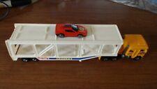 VINTAGE Hot Wheels RIG SEMI Rigs  Truck   Car Hauler  Kenworth Cab 1980 1 CAR
