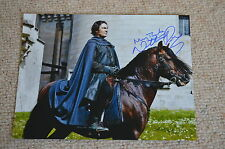 NATHANIEL PARKER signed Autogramm  In Person 20x25 cm MERLIN