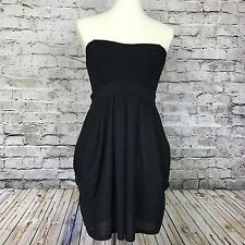 NEW Free People Women's Strapless Black Dress Size 8 FREE SHIPPING