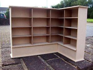 12th Scale Right Corner Bookcase (Kit)