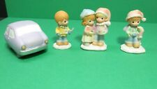"Hawthorne Village Precious Moments Accessory~""Joys Of The Season""~4 pc Set"