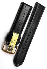 20mm Louisiana ALLIGATOR echt KROKODIL Leder made GERMANY BAND Uhrenarmband