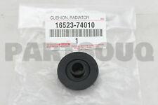 1652374010 Genuine Toyota CUSHION, RADIATOR SUPPORT 16523-74010