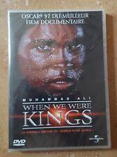 DVD WHEN WE WERE KINGS - MUHAMMAD ALI - NEUF