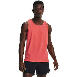 Under Armour Mens Run Anywhere Singlet Fitted Fit Tank Top Size L 1362713-690