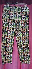 Walt Disney World Disneyland Resort Pajama Pants Mickey Mouse Size Medium EUC