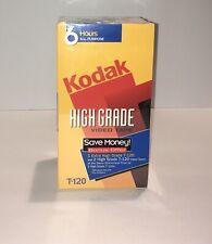Kodak T-120/T-120 XHG; 2 High Grade w/ Bonus 1 Royal Extra High Grade VHS Tapes