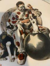 New ListingGorham Norman Rockwell 1979 The Understudy Clown & Circus Dog 4529/7000