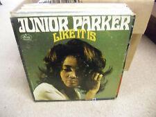 Junior Parker Like It Is vinyl LP 1967 MONO White Label Promo