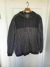 Mens Grey Zip Up Hoodie Size XXL From George