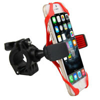 Bicycle MTB Bike Handlebar Mount Holder for Smartphone-2x Spider Straps Included