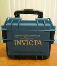 INVICTA LIMITED EDITION  BLUE WATERPROOF 3-SLOT DIVE WATCH CASE
