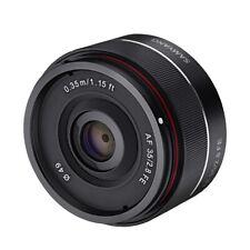 Samyang 35mm Vollformat Objektiv F/2,8 für Sony E-Mount ILCE-A6400 A6500 A7 A9
