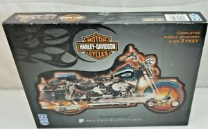 Harley-Davidson Motorcycles ACCELERATE Puzzle 1000 Piece FX Schmid