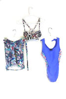 Lot of 3 Women's Size Small Swim Suits 1 One-Piece and 2 Tops