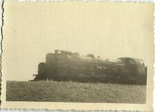 PHOTO ANCIENNE - VINTAGE SNAPSHOT - TRAIN 231 G LOCOMOTIVE 1948  1