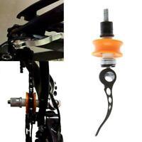 White Bicycle Bike Wheel Safety Spoke Reflector Mount Fast Lamp Warning Cli B2Q4