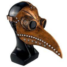 Peste médico Máscara aves pico de imitación de cuero de punta larga 2019 de Halloween de Steampunk