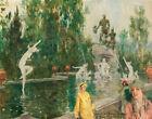 Howard Chandler Christy Balboa Fountain Canvas Print 16 x 20  # 9135
