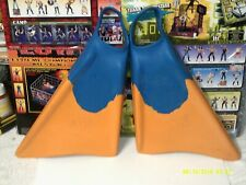 Churchill Makapuu Original SwimFins Medium blue/yellow