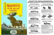 Marbles 1953 Outing and Gun Equipment Catalog