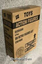 2019 Star Wars TVC Vintage Collection Retro Wave 1 Set Of 6 Sealed Case In Hand